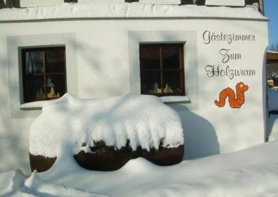 Pension Holzwurm Winter